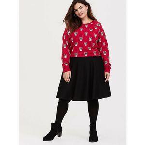 Torrid Black Skater A-line Skirt Plus Size 1